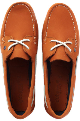 Dubarry Womens Aruba Deck Shoes - Caramel