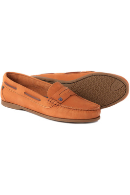 Dubarry Womens Belize Deck Shoe - Caramel