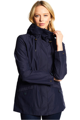 Dubarry Womens Shannon Waterproof Jacket Navy