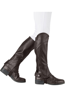 Dublin Stretch Fit Half Chaps Brown