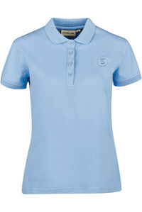 Dublin Womens Ara Short Sleeve Polo T-Shirt Powder Blue