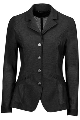 Dublin Womens Hanna Mesh Tailored Riding Jacket II - Black