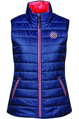 Dublin Womens Julia Puffer Gilet True Navy