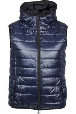Dublin Womens Olivine Hooded Gilet Navy