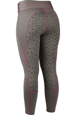 Dublin Womens Performance Compression Tights Grey