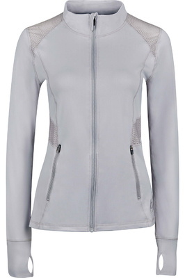 Dublin Womens Pheonix Long Sleeve Tech Top Grey