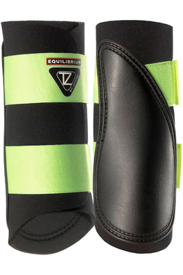 Equilibrium Tri-Zone Brushing Boots -Black / Yellow