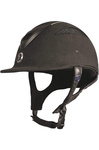 Gatehouse Conquest MK2 Riding Hat Suedette Crystal Black