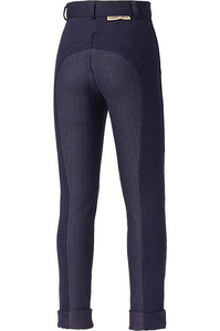 Harry Hall Childrens Chester Sticky Bum II Breeches Navy
