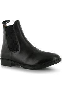 Harry Hall Childrens Silvio Tex Jodhpur Boots Black