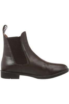 Harry Hall Childrens Silvio Tex Jodhpur Boots Brown
