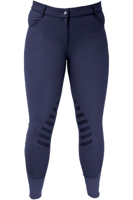 HyPerformance Womens Thermal Softshell Breeches - Navy