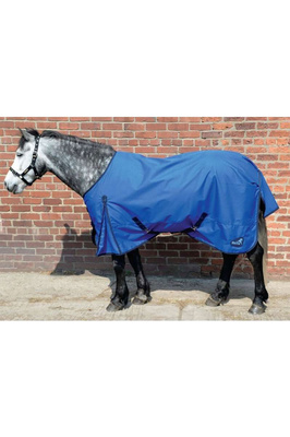 Masta Basic Turnout Lightweight Rug Standard Neck Blue