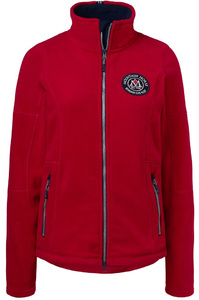 Mountain Horse Womens Adele Fleece Red
