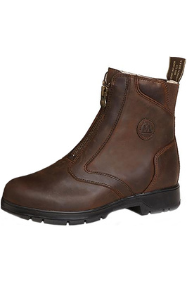 Mountain Horse Womens Spring River Paddock Boots Brown