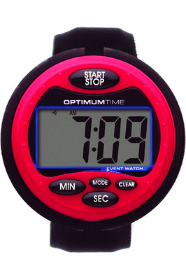 Optimum Time OE Series 3 Equestrian Event Watch - Red