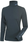 Pikeur Womens Sina Polo Neck Pullover Top Anthracite