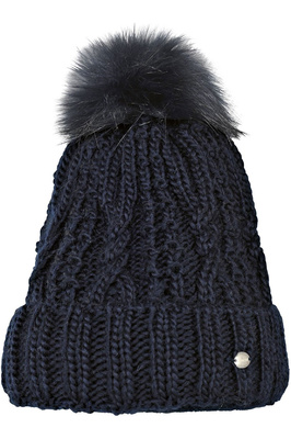 Pikeur Womens Bobble Hat Navy