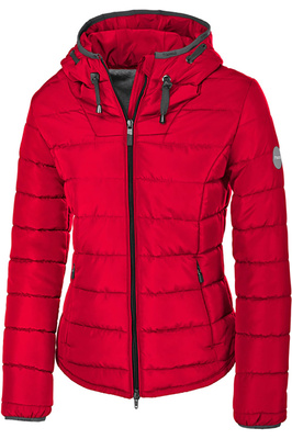Pikeur Womens Selma Quilted Jacket Bright Red