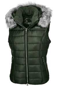 Pikeur Womens Amica Quilted Gilet Pine Green