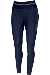 Pikeur Womens Gia Athleisure Grip Breeches Leggings Navy