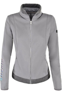Pikeur Womens Hylli Fleece Jacket Light Grey