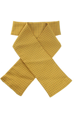 ShowQuest Pin Spot Stock Ready Tied Sunshine Yellow / Navy