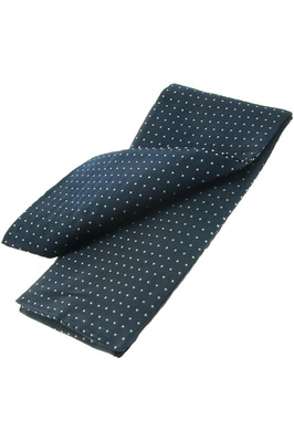 ShowQuest Pin Spot Stock Untied Navy / White