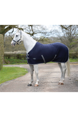 Weatherbeeta Thermic Quilt Cooler Standard Neck Navy / Grey / White