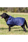 Weatherbeeta Tweed Dog Coat Navy