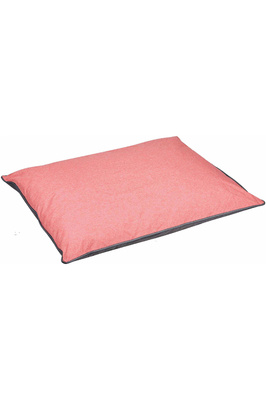 Weatherbeeta Waterproof Pillow Dog Bed - Grey / Pink