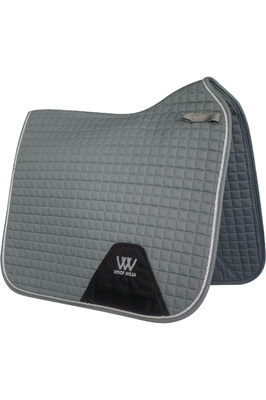 Woof Wear Dressage Saddle Cloth - Brushed Steel