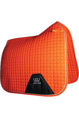 Woof Wear Dressage Saddle Cloth Orange