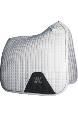 Woof Wear Dressage Saddle Cloth White