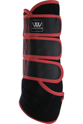Woof Wear Dressage Wraps - Black / Shiraz