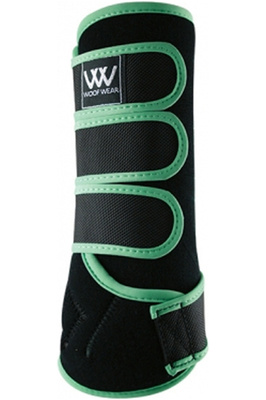 Woof Wear Dressage Wraps Black Mint