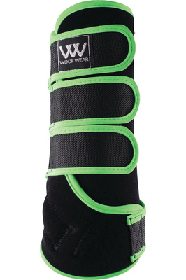 Woof Wear Dressage Wraps Lime