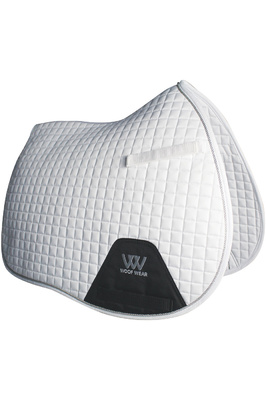 Woof Wear General Purpose Saddle Cloth White