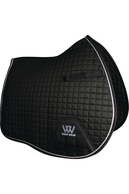 Woof Wear General Purpose Saddle Cloth Black