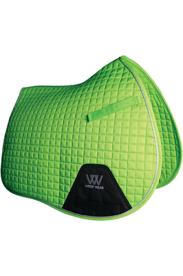 Woof Wear General Purpose Saddle Cloth Lime