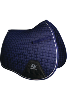 Woof Wear General Purpose Saddle Cloth Navy
