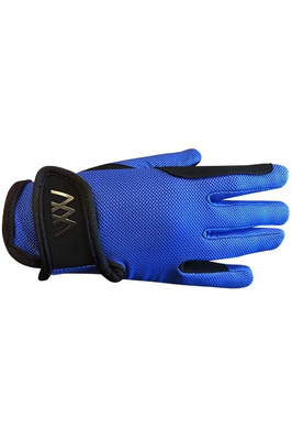 Woof Wear Young Rider Pro Gloves - Electric Blue
