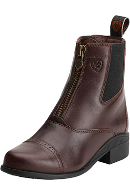 Ariat Youth Devon 3 Zip Short Riding Boots Sienna