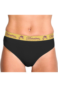 Derriere Equestrian Womens Performance Padded Panty Black
