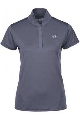 Dublin Womens Glencoe Short Sleeve Performance Top Indigo