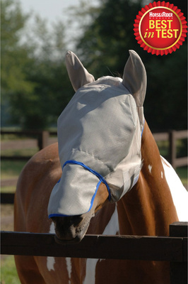 Equilibrium Field Relief Max Fly Mask Grey / Blue