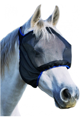 Equilibrium Field Relief Midi Fly Mask Without Ears Black / Blue