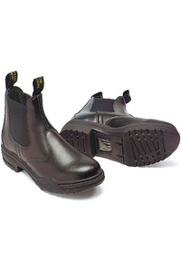 Mountain Horse Childrens Stable Jodhpur Boots Black